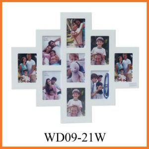 MDF Collage Photo Frame (WD09-21W) pictures & photos