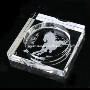 Customize Cheap Glass Crystal Funny Ashtray Antique Glass Ashtrays pictures & photos