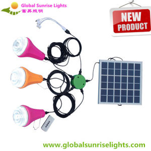 Solar Reading Light for Africa/Solar Camping Light with Hook/Remote Controller pictures & photos