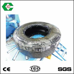Waste Rubber Recycling Steel Wire Tire Cutter pictures & photos