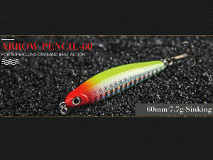 Fishing Tackle (Arrow Pencil 60mm Sinking) pictures & photos