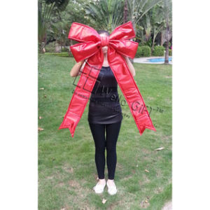 Handmade Red Satin Giant Bow Wholesale pictures & photos