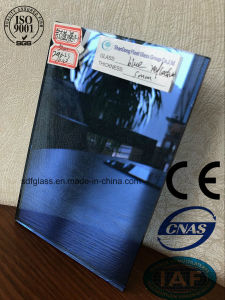 Blue Reflective Float Glass with Ce. ISO (4mm to 10mm)