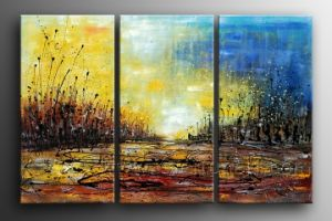 100% Handmade Canvas Art Abstract Painting for Living Room (XD3-126) pictures & photos