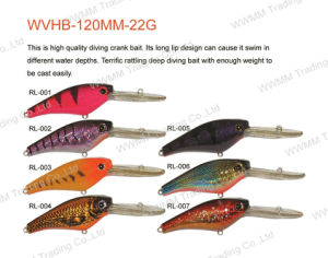 Fishing Lure, Fishing Tackle, Plastic Lure (Bass Bait--Diving Crank Baits) (HRL025) pictures & photos