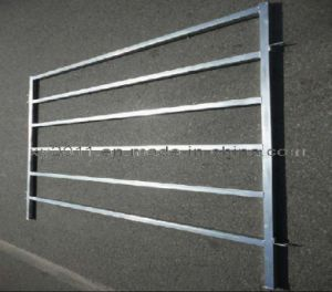 Galvanzied Pipe Welded Livestock Fence pictures & photos
