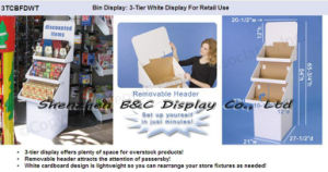 Commodity Paper Flooring Display Stand with High Quality (B&C-A065) pictures & photos