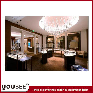 High End Display Showcases for Luxury Jewellery Store Decoration pictures & photos