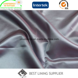 100 Polyster Classic Small Twill Lining Fabric Suit Lining Supplier pictures & photos