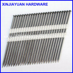 21 Degree Screw Shank Plastic Strip Nails Wholesale pictures & photos