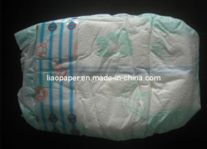 Cloth-Like Film, with Wetness Indicator Baby Diaper, Baby Nappy pictures & photos