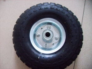 Factory Directly Sale Pneumatic Rubber Wheel pictures & photos