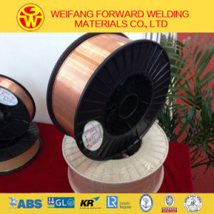 Plastic Spool Copper-Coated Solid MIG Welding Wire (G3Si1/SG2) pictures & photos