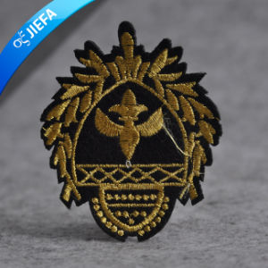 New Design Custom Self-Adhesive Embroidery Patch for Uniforms pictures & photos