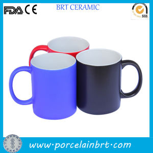 11oz Color Outside Sublimation Mug for Gift pictures & photos