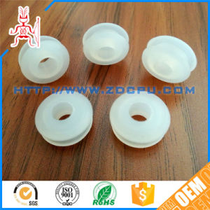 FDA Food Grade Soft Fexible White Silicone Grommet pictures & photos