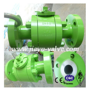 Forged Steel 3PC Flange Ball Valve pictures & photos