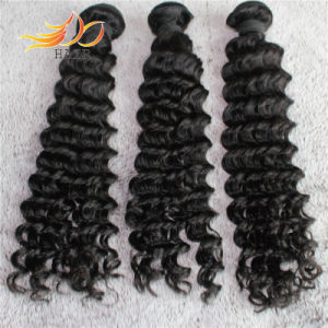 High Quality Peruvian Hair Bundles Deep Wave Virgin Human Hair pictures & photos