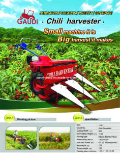 Chili Harvester (4G-80 harvester) pictures & photos