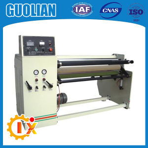 Gl-806 Automatic Stretch Film Aluminum Foil Roll Rewinding Machine pictures & photos