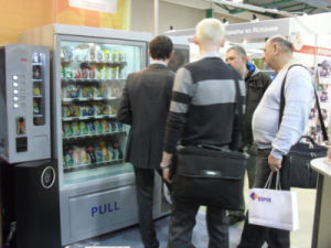 Snack/Beverage and Coffee Vending Machine LV-X01 pictures & photos