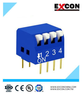 Piano DIP Switch Excon Rpl-04-B/Slide Switch with 4key pictures & photos