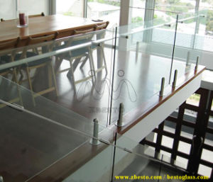 Safety Tempered Safety Glass for Railing, Balustrade 8mm 10mm 12mm pictures & photos