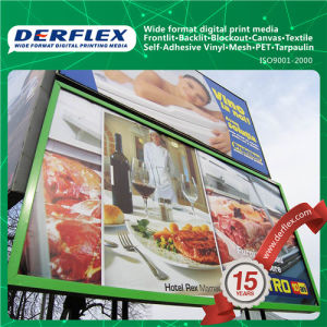 Manufacturer 440g Laminated Backlit PVC Flex Banner pictures & photos