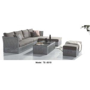 Garden Leisure Rattan Patio Modern Dining Sofa for Outdoor