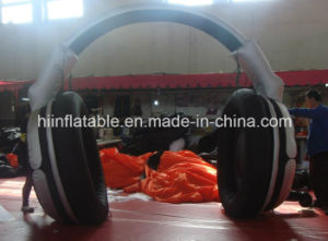 Advertising Inflatable Inflatable Earphone for Music Promotion