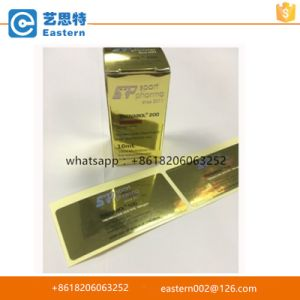 Top Quality Hot Stamping Gold Foil Vial Box
