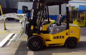 3.5ton Deisel Forklift with Attachment Paper Clamp pictures & photos