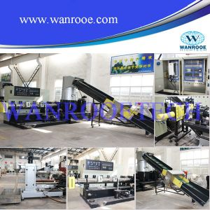 Single Screw Extruder Plastic Granules Machine pictures & photos