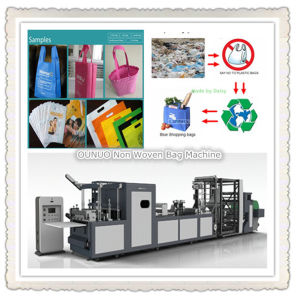 Non Woven Cloth Bags Making Machine pictures & photos