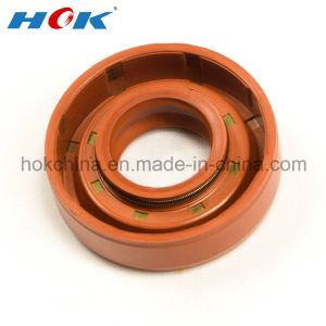Red NBR Oil Seal with Double Spring for KIA Pride pictures & photos