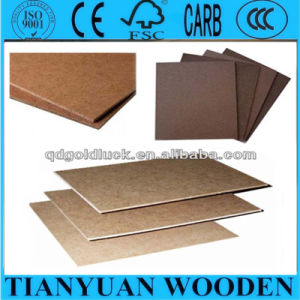 Dark Brown 2.5mm / 2.7mm / 3.0mm Hardboard 4X8 with Smooth Surface and Rough Back pictures & photos