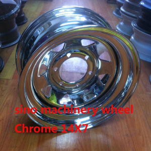14X7 Hot Sale Chrome Steel Wheel pictures & photos