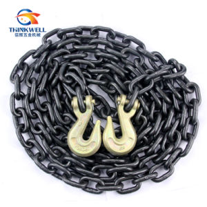 G80 Transport Lashing Drag Chain Binder Chain with Hook pictures & photos