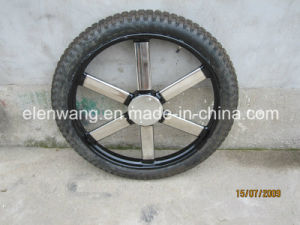 Stainess Steel Wheel for Marathon Horse Waggon (GW-WHEEL01) pictures & photos