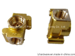 Brass CNC Machining Part for Connection (LZ004)