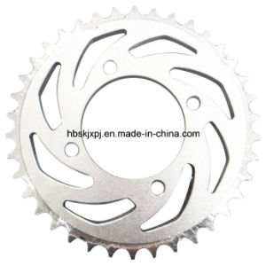 1045 Steel Motorcycle Chain Wheel pictures & photos