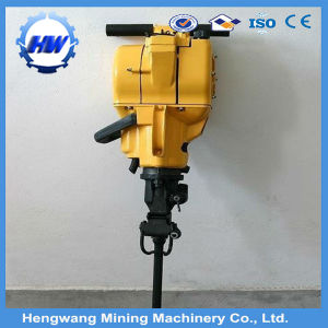 Hand Held Gasoline Petrol Vertical Mining Rock Drill pictures & photos