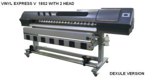 1.8m Eco Solvent Printer with 2 Dx5 Heads pictures & photos