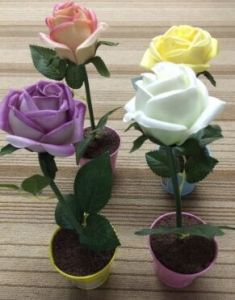 Promotion Artificial Flower with Pot pictures & photos