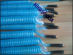 Flexible Coiled Air Brake Hosepu PA Recoil Air Brake Hose / Air Brake Coil Hose pictures & photos