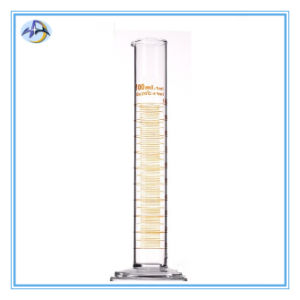 Glass Graduated Measuring Cylinder for Laboratory Glassware