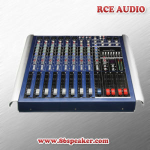 10 Channel Powered Audio Mixer, Professional Mixing Console with Amplifier