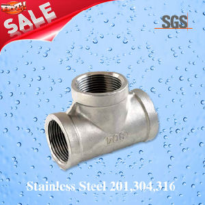 Stainless Steel Casting Straight Cross, Pipe Fittings Cross pictures & photos