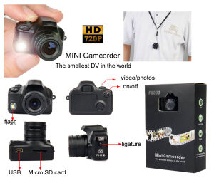 Mini DV HD Camera Sport Motion Detection Smallest in The World pictures & photos