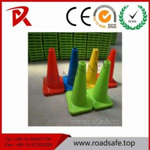 Roadsafe PVC Barricade Cone Barrier Orange Reflective Traffic Cone with Reflective Tape pictures & photos